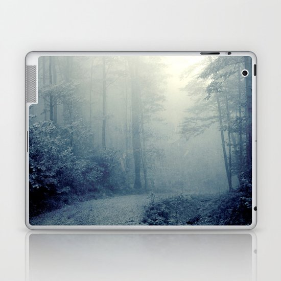 Wander in a Woodland Fog Laptop & iPad Skin
