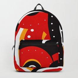 teke tribal mask Backpack