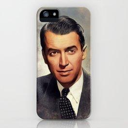 Jimmy Stewart, Movie Legend iPhone Case