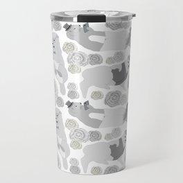 Hipster otters Travel Mug