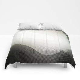 Edged Out Comforters