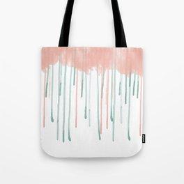 Watercolour rain Tote Bag