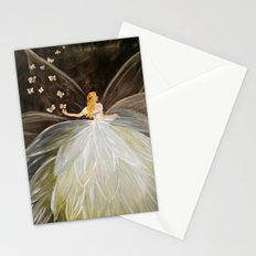 Golden Butterfly Fairy Stationery Cards