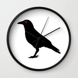 Shisui Uchiha's Crow from Naruto Shippuden Wall Clock