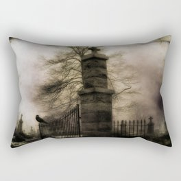 Old Cemetery Gate Rectangular Pillow