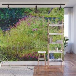 Monet's creek Wall Mural