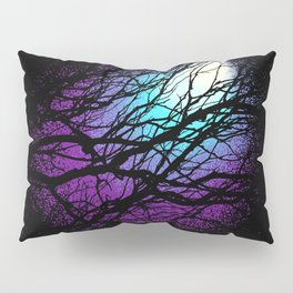 lights in the forest Pillow Sham