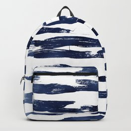 Abstract Waves in Blue Backpack