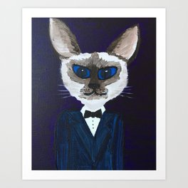 Pascal the Cat Art Print