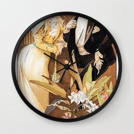 A Seductive Woman - Digital Remastered Edition Wall Clock