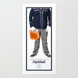 Superbad Art Print