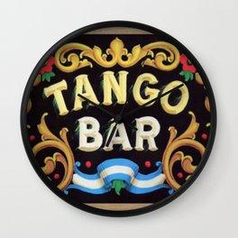 Tango Bar Wall Clock