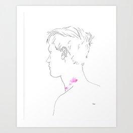 Bruise Me Better Art Print
