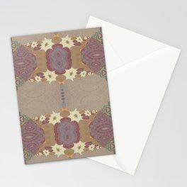 Pallid Minty Pattern 10 Stationery Cards