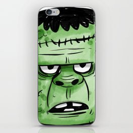 Frankenstrein Happy Halloween iPhone Skin