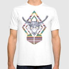DREAMTAPES, created by Elena Mir and Kris Tate MEDIUM Mens Fitted Tee White