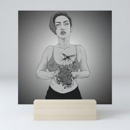 Here Mini Art Print