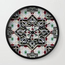 Alhambra jewel box Wall Clock