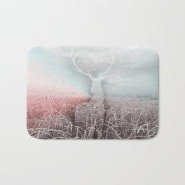 Frozen grass Bath Mat