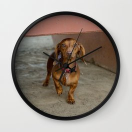 Welcome to Weinerville Wall Clock