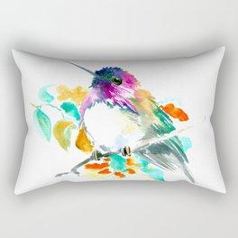 Cute Little Hummingbird Rectangular Pillow