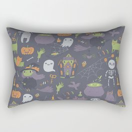 Cute Happy Halloween Rectangular Pillow