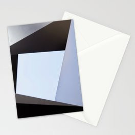 Moderninst Abstract Geometric Sculpture Stationery Cards