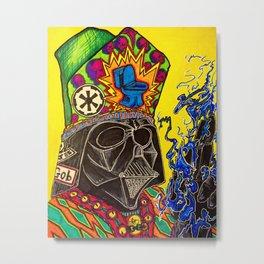 Psychedelic Vader Metal Print