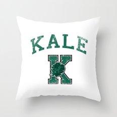 University of Kale Throw Pillow