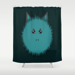 Cute monster of Halloween Shower Curtain