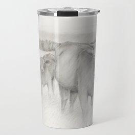 Cow and Calf Travel Mug