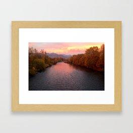Rogue River, Grants Pass Framed Art Print