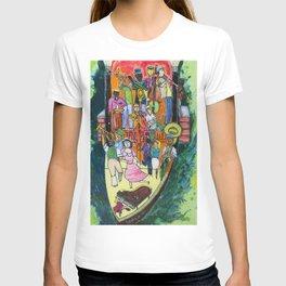 """The """"Old Man River"""" Dixielandband T-shirt"""