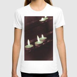 split toning candels T-shirt