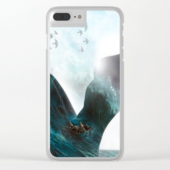 Inner Storm Clear iPhone Case