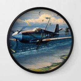 P-39 Airacobra Wall Clock