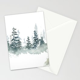 a walk through the woods Stationery Cards