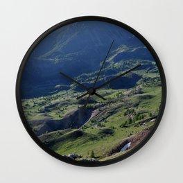 Green Haven Wall Clock