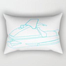 ski-doo Rectangular Pillow