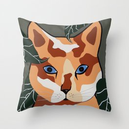 Putty Chow Throw Pillow