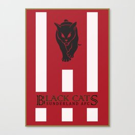 Sunderland | 13/14 Premier League Canvas Print
