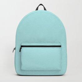 cyan ultra soft pastels Backpack