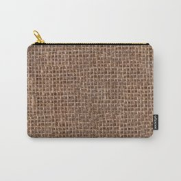 Canvas texture Carry-All Pouch