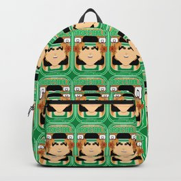 Basketball Green - Alleyoop Buzzerbeater - Amy version Backpack