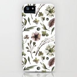 Herbs iPhone Case