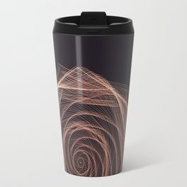 Geometric Rose Travel Mug