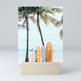 Choose Your Surfboard Mini Art Print