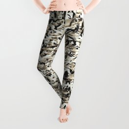 Snow Geese Migration Leggings
