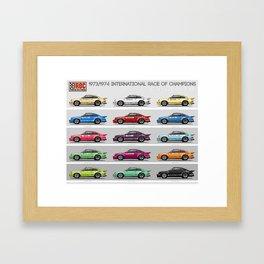 IROC 911s Framed Art Print
