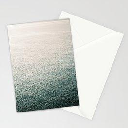 "Coastal beach photography ""Free as the ocean"" | Modern wall Art Sea Ibiza Stationery Cards"